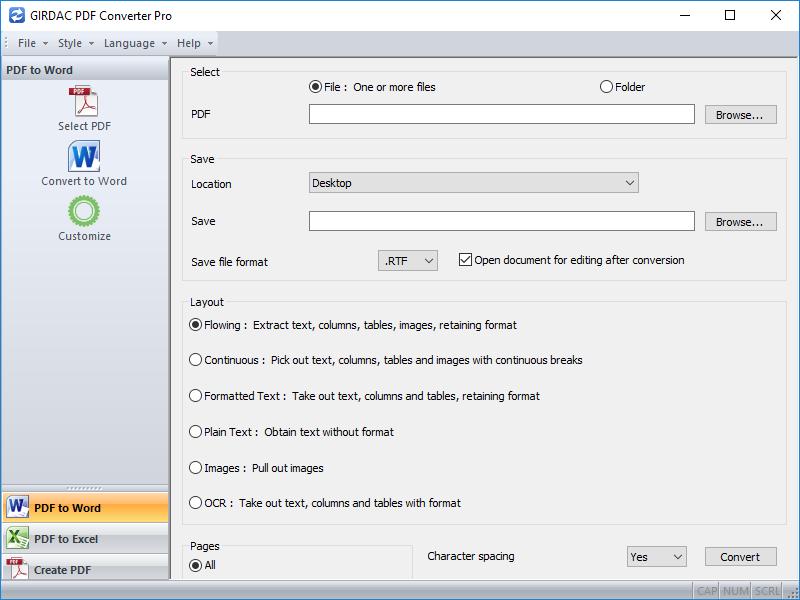 PDF Converter Pro Regular