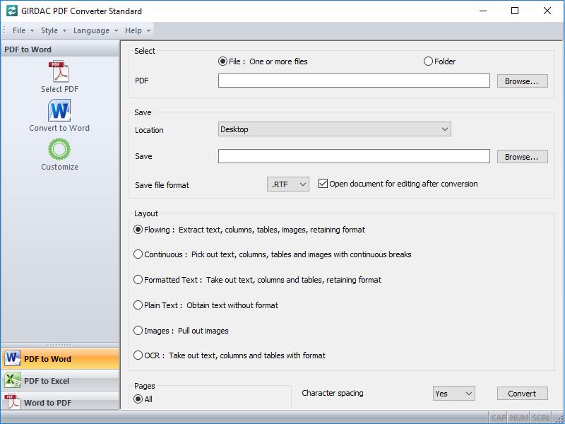 PDF Converter Standard