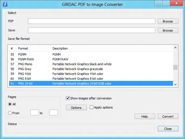 PDF to Image Converter Regular