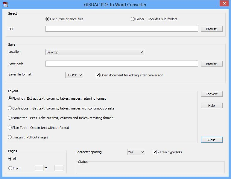 PDF to Word Converter Two in One